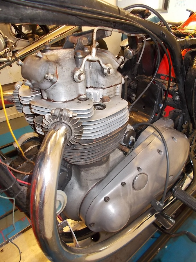 1961 BSA A10 Super Rocket: Full Engine Rebuild