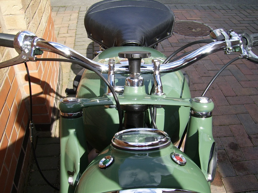 1954 Sunbeam S7 Deluxe: Complete Respray and all Chrome