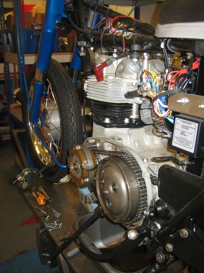 1966 Triumph 21: Full service and various re-commission work